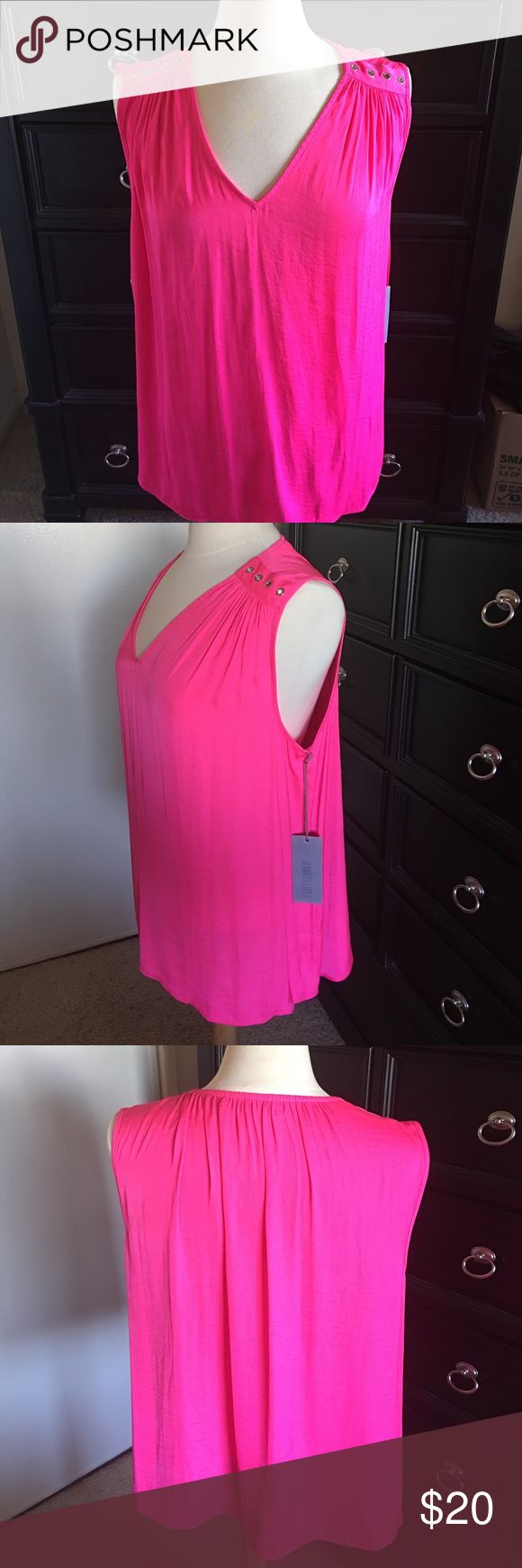 🌸🌸NWT Beautiful Jennifer Lopez top🌸🌸 This is new with tags! This is a beautiful bright pink in color & Never worn. Bought and then never got to wear due to recent weight loss! My loss is your gain! 🎉🎉I offer discounts on bundles and will accept reasonable offers. I have a lot to list so please feel free to make offers! Please 🚫low balling and 🚫trades! 🚫offers on items $10 or less due to PM fees. These Items Will only be discounted if bundled. Sorry ☹️Thank you for stopping by and…