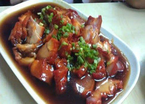 Pork Asado Recipe  Save Print Pork Asado Recipe Ingredients 1 kilo pork pigue 2 teaspoons five spice powder ½ cup soy sauce ⅓ cup brown sugar | Panlasang Pinoy Recipes