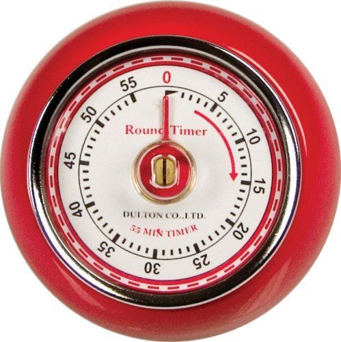 Fox Run Retro Kitchen Timer with Magnet, Red from Fox Run