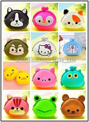 XMAS Gift Hot Cartoon Animal Coin Purse Rubber Wallet Headset Key Mini Bag in Clothes, Shoes & Accessories, Kids' Clothes, Shoes & Accs., Girls' Accessories | eBay