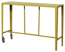Skyline från Vermobil är ett högt bord med två hjul som är tillverkat av stål och olika färger finns. Skyline är även en serie där flera möbler finns. #ståbord #barbord #vermobil #dialoginterior