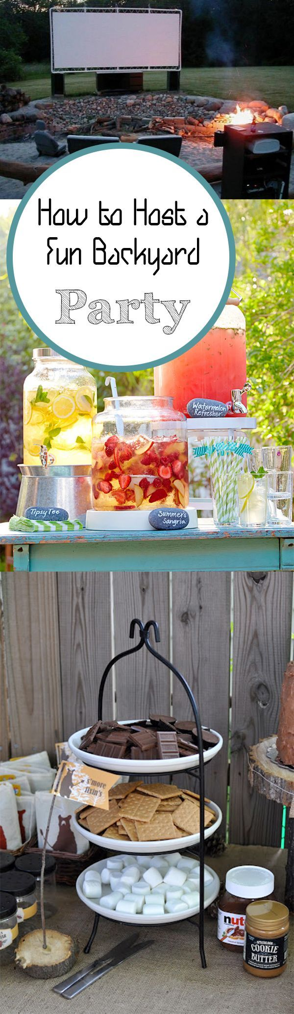 Need some backyard party inspiration? These creative ideas will make for a time to remember!