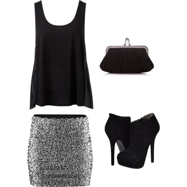 """""""Night Out"""" outfit cute! Cute for a night out. yet not trashy. completely love. :)"""