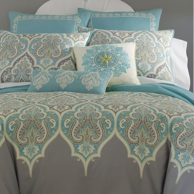 Master bedroom bedding ordered-CHECK! Kashmir Comforter Set & Accessories - jcpenney