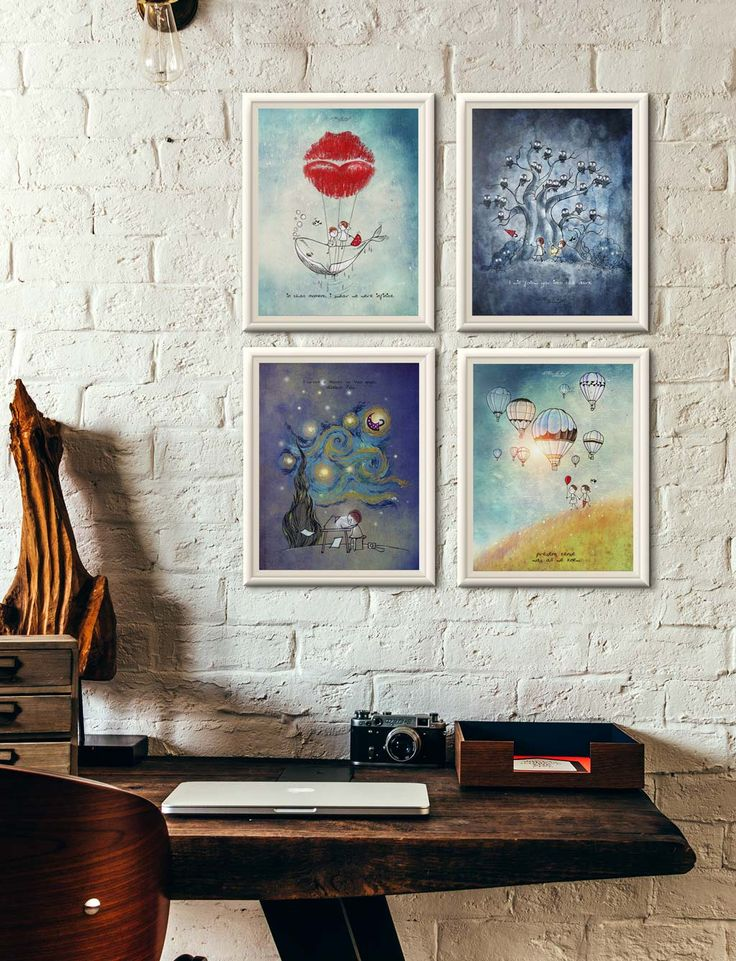 Art print set | Unposted Letters | Limited Edition