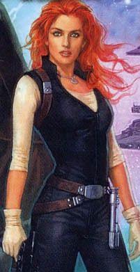 La Asesina del Emperador, la madre de Ben... Mara Jade Skywalker