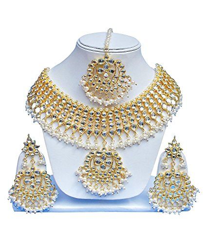 VVS Jewellers White Pearls Gold Plated Exclusive Kundan P... https://www.amazon.com/dp/B073S1Y13K/ref=cm_sw_r_pi_dp_x_W5AGzb2TFDMM0