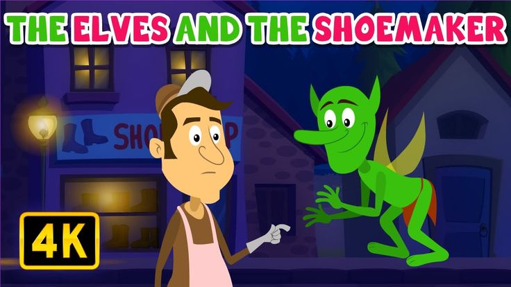 The Elves and the Shoemaker   Bedtime Stories   English Stories for Kids...
