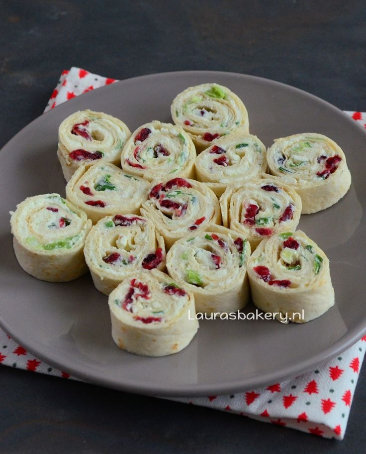 Cranberry feta wraps - Laura's Bakery
