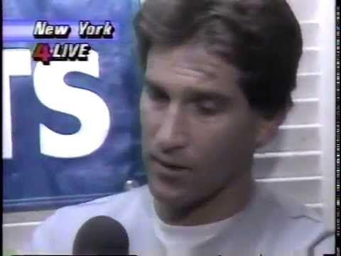 1986 World Series Game 7 Oct 27, 1986 10/27/86 WBZ TV-4 Boston, MA part ...