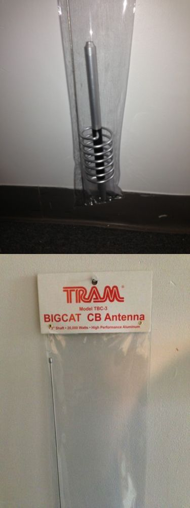Other TV Video and Audio Parts: Tram Tbc-3 Cb Antenna 3 Shaft ***Ships From Usa*** -> BUY IT NOW ONLY: $34.5 on eBay!