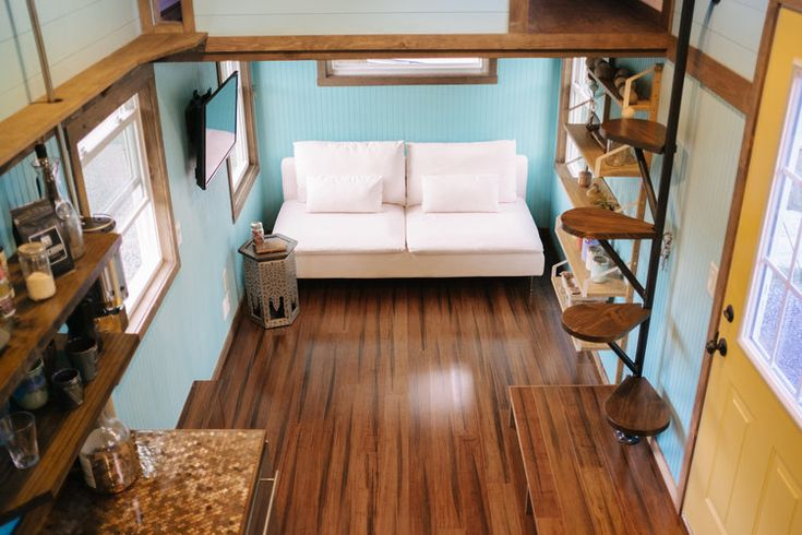 Best The Big Whimsy By Wind River Tiny Homes Haiku Ceiling 400 x 300