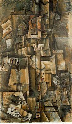 Cubismo analitico. El aficionado (1912)
