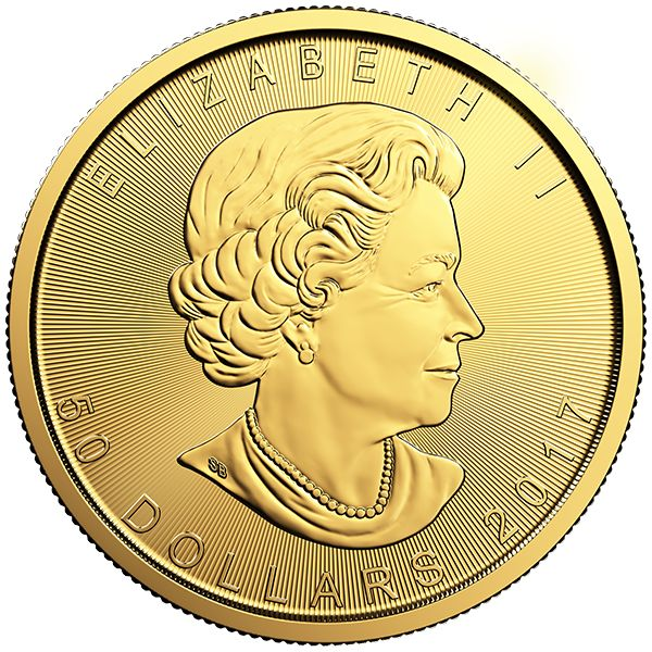 1 Oz Gold Coin 2017 | Canadian Maple Leaf (DNA)