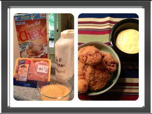 gluten free chex chicken