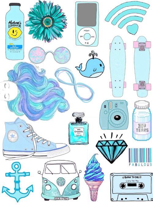 blue, wallpaper, and converse -kuva