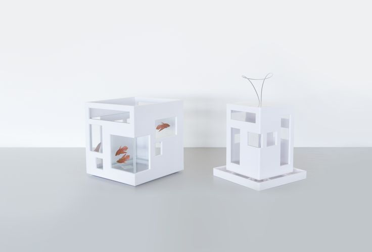 Fish Hotel fishbowl and Bird Cafe birdfeeder by Umbra.: Cafe Birdfeed, Birds Cafe, Cafe K-Cup