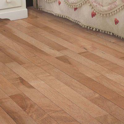 "Mohawk Randhurst Map SWF 3-1/4"" Solid Oak Maple Hardwood Flooring in Crema"