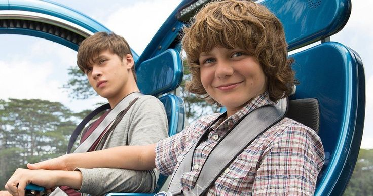 'Jurassic World' Blu-ray Preview: Kids Vs Dinosaurs | EXCLUSIVE -- Nick Robinson and Ty Simpkins discuss their experiences shooting in Hawaii on 'Jurassic World', now available on Digital HD, Blu-ray and DVD. -- http://movieweb.com/jurassic-world-preview-nick-robinson-ty-simpkins/