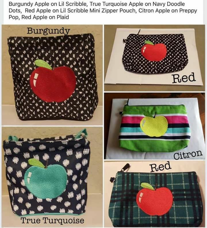 Looking for an adorable way to personalize your next school bag, lunch thermal or classroom storage? Or do you have a special teacher in your child's life that you would like to show appreciation for? Check out one of our new personalization options! I'm in ❤ with our apple icon-it! Isn't it cute!? Mythirtyone.com/LisaBerkery #Teacher #ThankATeacher #TeacherAppreciation #ITeachToo #TeachersFollowTeachers #TeacherGifts #ThirtyOne