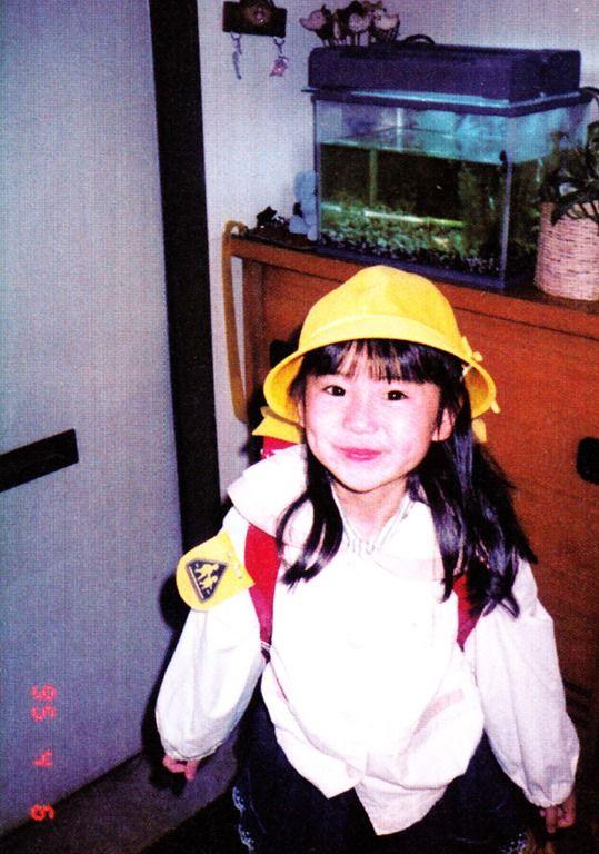 Yuko History 101: Yuko Oshima as a young girl.