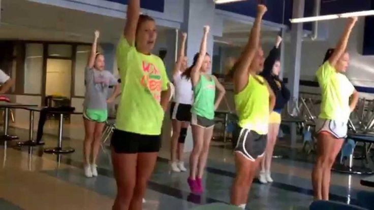 General sideline cheers 20142015 highlands high school