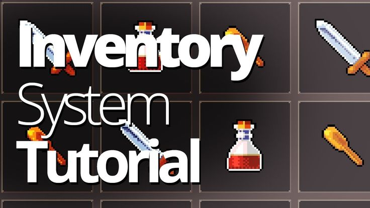How to make an inventory system for a Unity game