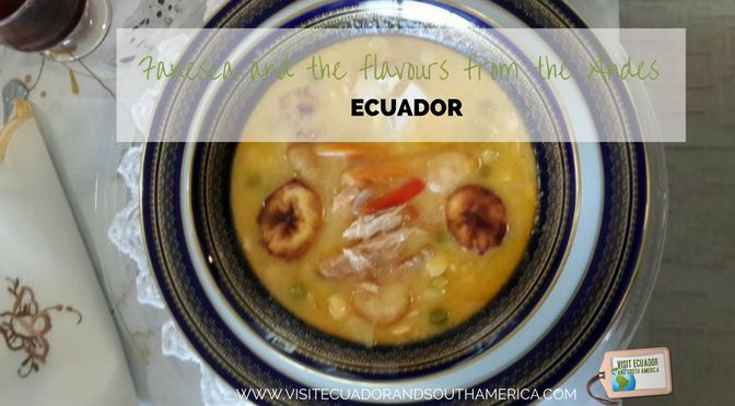 This #traditional #Ecuadorian soup has as main ingredients 12 different beans and grains and is just eaten during Holy Week.