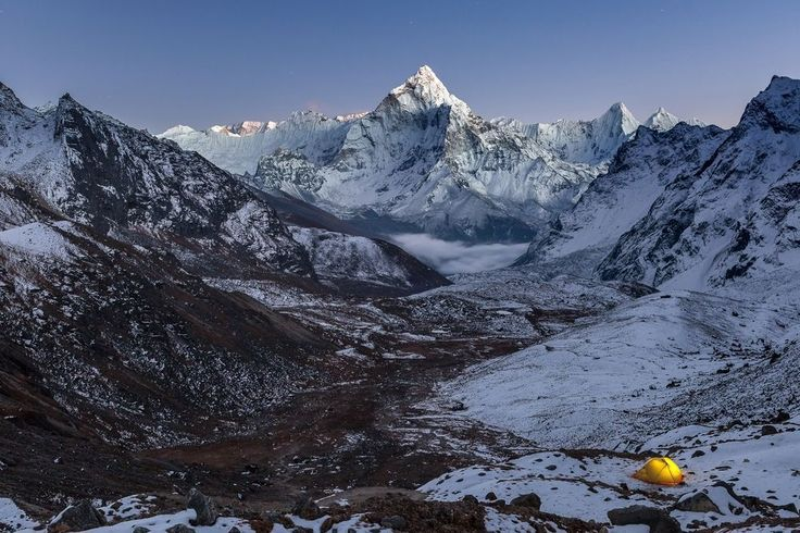 Night camping in Himalayas Photo by Eugene Novikov — National Geographic Your Shot