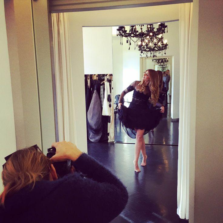 Had a blast while Ioanna Tzetzoumi was shooting journalist Anthi Salagoudi in our atelier today for our upcoming new #AthensWomen project! #thatgirl #thatdress #backstage #costarellos #staytuned christoscostarellos #fashion #instafashion #bts #photoshoot #athens #madeingreece #fashionweek #celeb #fashionnews #eveningdress #luxuryfashion #couture #moda #mode #fbloggers #styling #perfectdress #highfashion #pretaporter #instachic #instacool