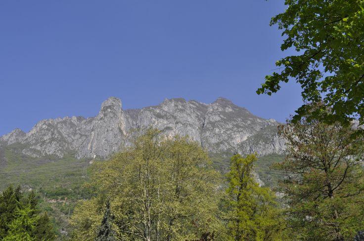 Il monte Altissimo che sovrasta le #Terme di #Boario #vallecamonica
