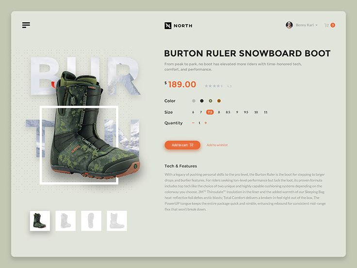 Burton by Pixel Grow