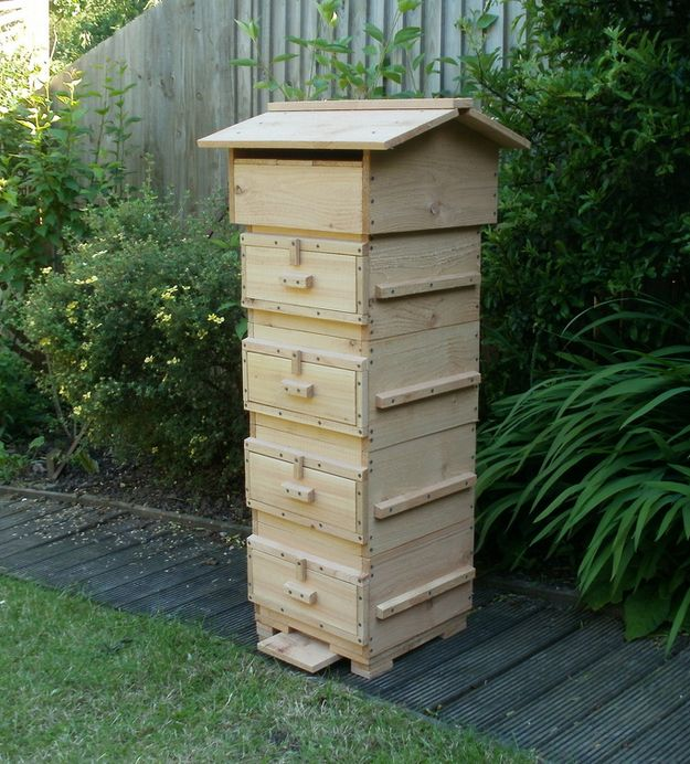 Warre Beehive | 16 Bee Hive Plans - Build a safe place to save the bees! at http://pioneersettler.com/best-bee-hive-plans