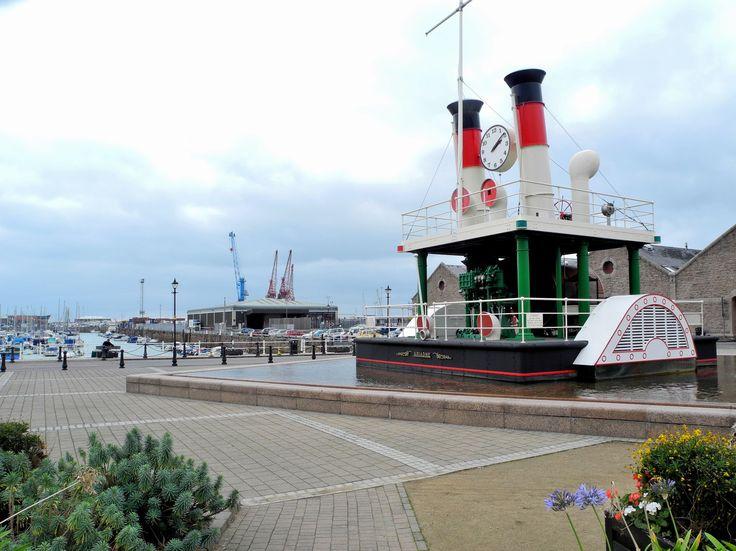 The Ariadne steam clock #Jersey #travel