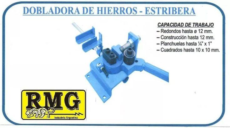 Dobladora De Hierros, Estribera, Zigzag, Construcciòn Rmg - $ 2.790,00
