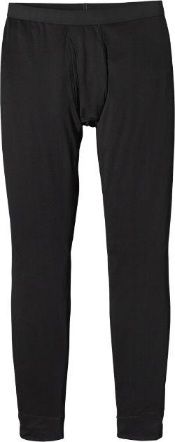 Patagonia Men's Capilene Midweight Long Underwear Bottoms Black XXL