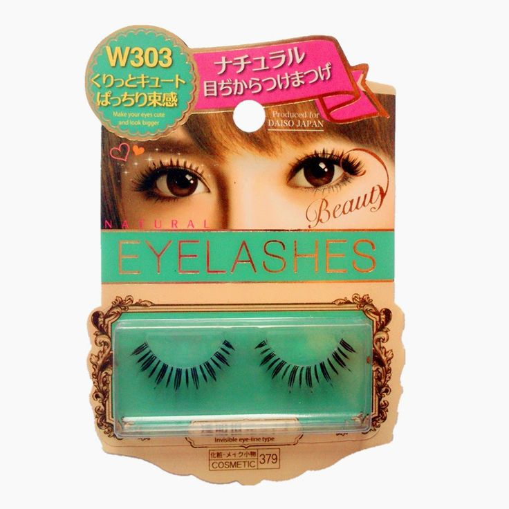 Adventures of Angel and Moe Tails: Review + Giveway: Eyelashes - DAISO Natural Beauty Eyelashes ダイソー ナチュラル 目力 つけまつげ (W101, W202, W303, W404)