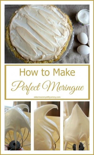How to Make the Perfect Meringue — Recipe, Tips and Tricks