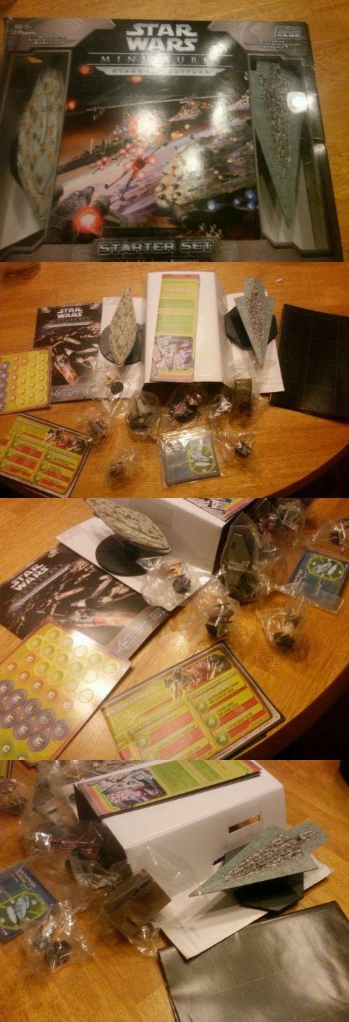 Starship Battles 158724: Star Wars Miniatures Game : Starship Battles Pack -> BUY IT NOW ONLY: $37 on eBay!