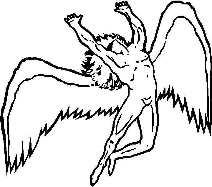 Led Zeppelin Symbol Ledzeppelinsymbol Led Zeppelin Tattoo Led Zeppelin Symbols Led Zeppelin Angel