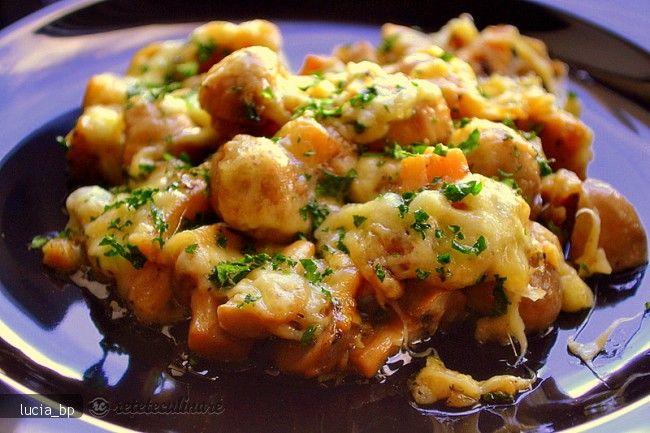 Reteta culinara Ciuperci Aromate in Crusta din Carte de bucate, Garnituri. Specific Romania. Cum sa faci Ciuperci Aromate in Crusta