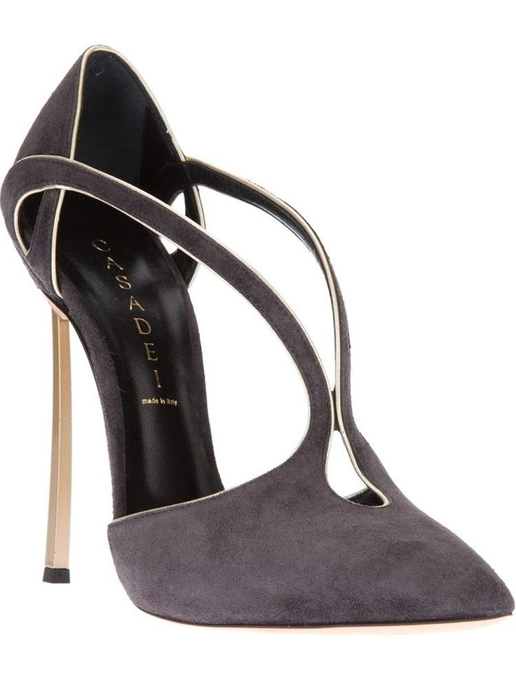 Casadei - love suede shoes