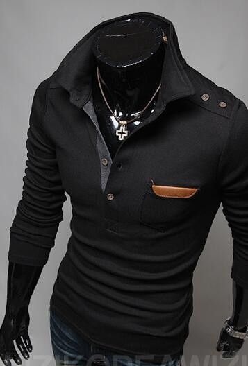 Brand 2016 Knitted Pullover Mens Lapel Fashion Sweaters Male Paste Paper Polo Shirt Winter Men Sweater XXL 2013