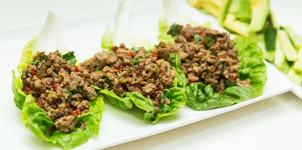 Fresh off the boat! Delight your tastebuds with the fresh favours of lemongrass & chilli in our delicious fragrant lamb mince recipe...  #glutenfree #dairyfree #recipe #UnimedLiving