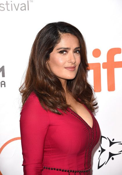 Salma Hayek Photos - Actress Salma Hayek attends the 'Septembers of Shiraz' premiere during the 2015 Toronto International Film Festival at Roy Thomson Hall on September 15, 2015 in Toronto, Canada. - 2015 Toronto International Film Festival - 'Septembers of Shiraz' Premiere - Arrivals