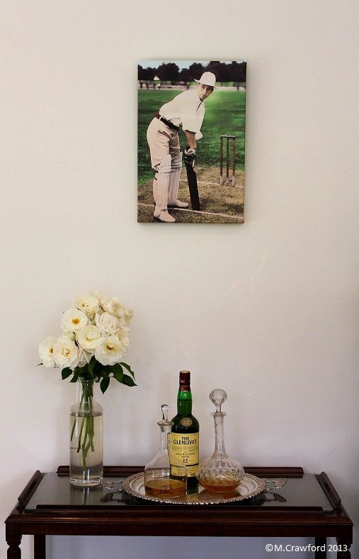 Canvas Print - Clem Hill (former Australian Cricket Captain) at the wickets c.1897 by CVPublications, $85.00