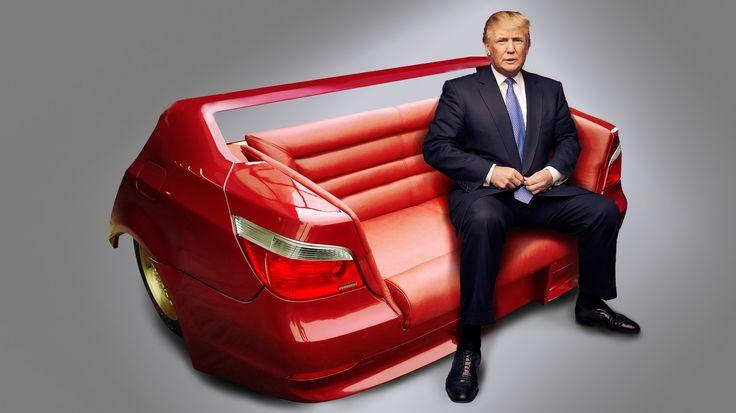 @realdonaldtrump on @bmw sofa ☺ .... @election @milionaire_mentor #bmw #ferrari #mercedes #bugatti #bentley #audi #Volkswagen #porsche #picoftheday #car #success #trump2016 #donaldtrump #millionaire #rich #bilionaire #trump #trumppence2016 #magazine #trump2016 #republican #home