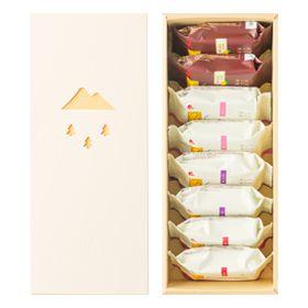 しなのmi ~信州からの贈り物~ 8個入(4種) -「米玉堂」1,900円 (税込)