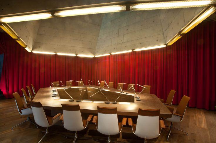 Exklusvier Wimmer-Dielenboden 'Scurano' im Boardroom B2-Hotel in Zürich. Lang- und Breitdielen.