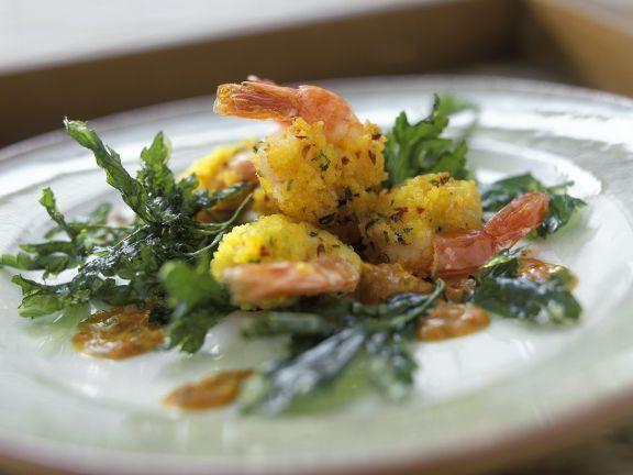 Panierte Shrimps ist ein Rezept mit frischen Zutaten aus der Kategorie Garnelen. Probieren Sie dieses und weitere Rezepte von EAT SMARTER!